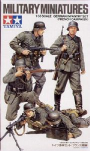 TA35293 German Infantry x 5 (French Campaign)